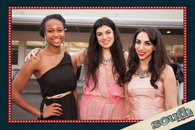 Sarena Foster, Sahiba Johar and Katherine Taylor