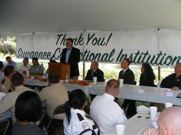 Suwannee County School Board Chairman Jerry Taylor