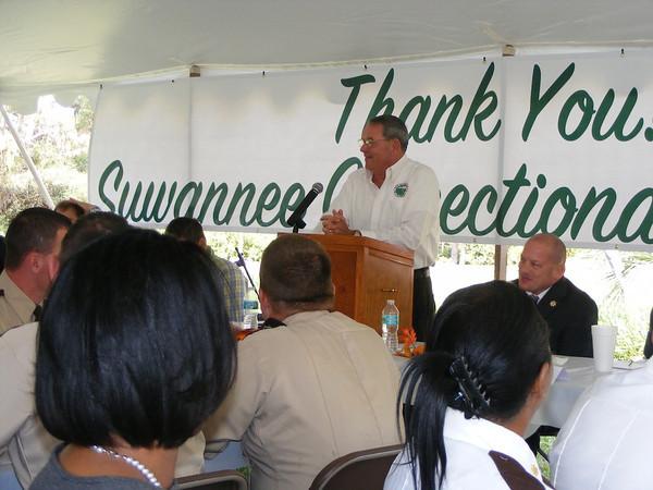 Live Oak Mayor Sonny Nobles