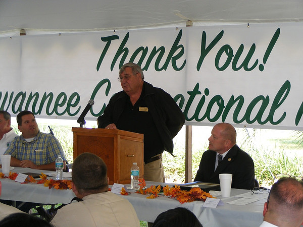 Town of Branford Council President Charlie Daniels