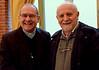 Old friends, Bishop Bressanelli and Br. Riva Abbondi