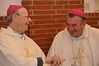 Laughs before Mass: Bishop Aloisio Roque Oppermann and Bishop Vita Chitolina