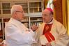 Fr. Claudio Weber and Bishop Krieger