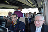 Fr. Levi dos Anjos Ferreira of the International College and Bishop Teemu Sippo along with others headed toward Naples
