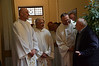 Fr. Oliviero Cattani (provincial superior of North Italy), Fr. José Ornelas Carvalho (superior general), Fr. Massimo Bellillo and Br. Riva Abbondio