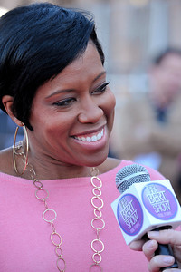 LOS ANGELES - JANUARY 28: Regina King arrives at the 18th Annual Screen Actors Guild Awards  Red Carpet Rollout at the Shrine Auditorium & Expo Hall, January 28, 2012 in Los Angeles, California. (Photo by Valerie Goodloe)