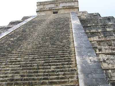 Chichen Itza. One of the new wonders of the world in Mexico.