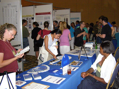 First Pan American Congress in Developmental Biology/SDB 2007 Annual Meeting - Poster session/exhibits; FASEB booth (Shadya Sanders, Purdue University - undergraduate student/booth assistant)
