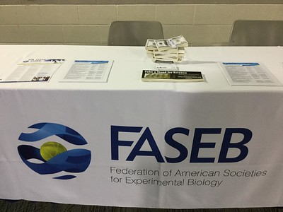 FASEB exhibit table