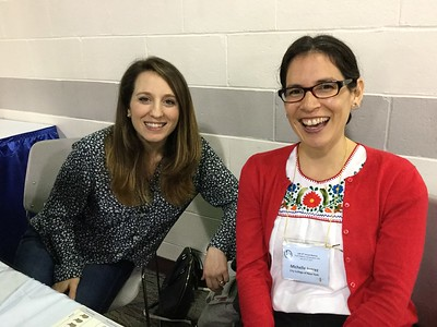 Sophia Guilday (SDB) and Dr. Michelle Juarez (CUNY)