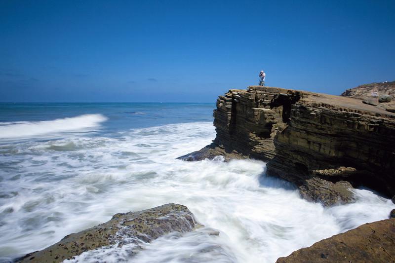 Pt. Loma cliffs looking north
