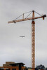 Crane over San Diego