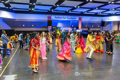 © SIVA DHANASEKARAN | SILICON PHOTOGRAPHY | SILICONPHOTOGRAPHY.COM | 2019 | Phone / Text: (408) 579-9135 | Email: siva@siliconphotography.com | SANKARA EYE FOUNDATION | GIFT OF VISION | DANDIA | Santa Clara Convention Center