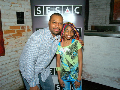 Ben Evans and Nia Imani, Broadway Actress & Singer from The Lion King.