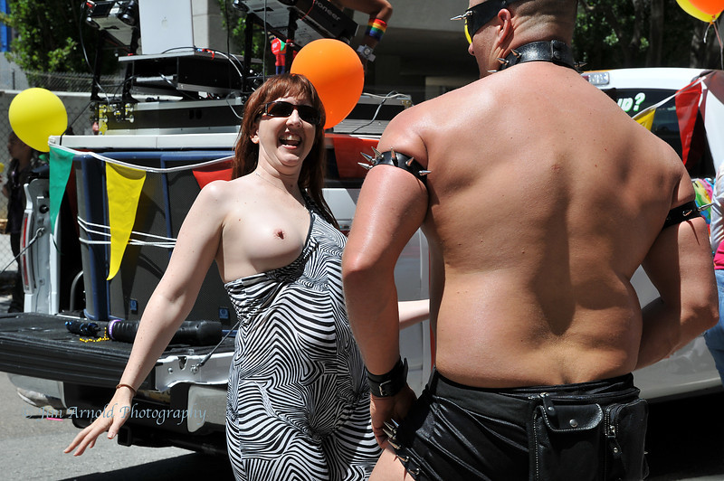 Keywords: leather breast gay pride parade san francisco ca market street ...