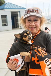 SF Giants Dog Day 2013