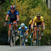Lance Armstrong - he didn't win the race, but he closed a gap for Hincapie, who then won!