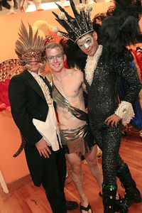 Craig, Andrew & Sidney @ Sidney´s Studio before The Castro Street Halloween Party