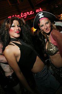 Roz & Myra @ The Castro Street Halloween Party