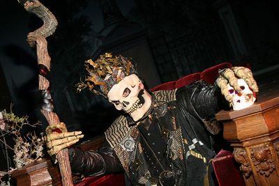 Donovan @ his Halloween Masquerade @ the Regency