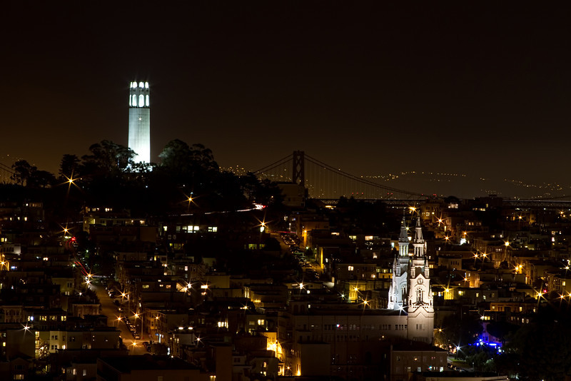 View From Lombard Street (Lights Off)