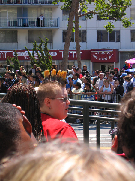 Great mohawks at Pride Fest SF 2006