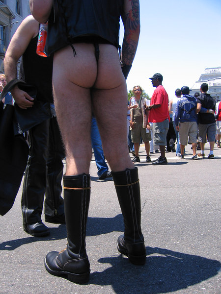 """A little """"Bootie"""" at Pride Fest SF, 2006"""