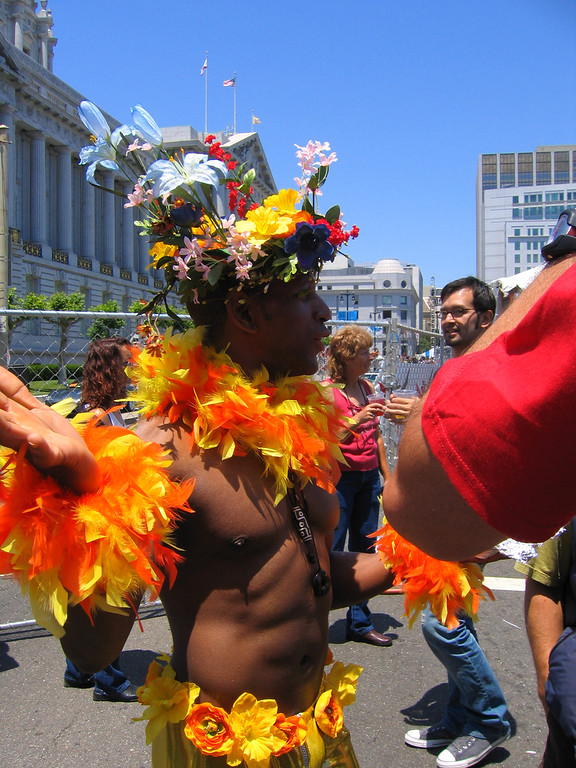 Living out LOUD!!! at Pride Fest SF 2006