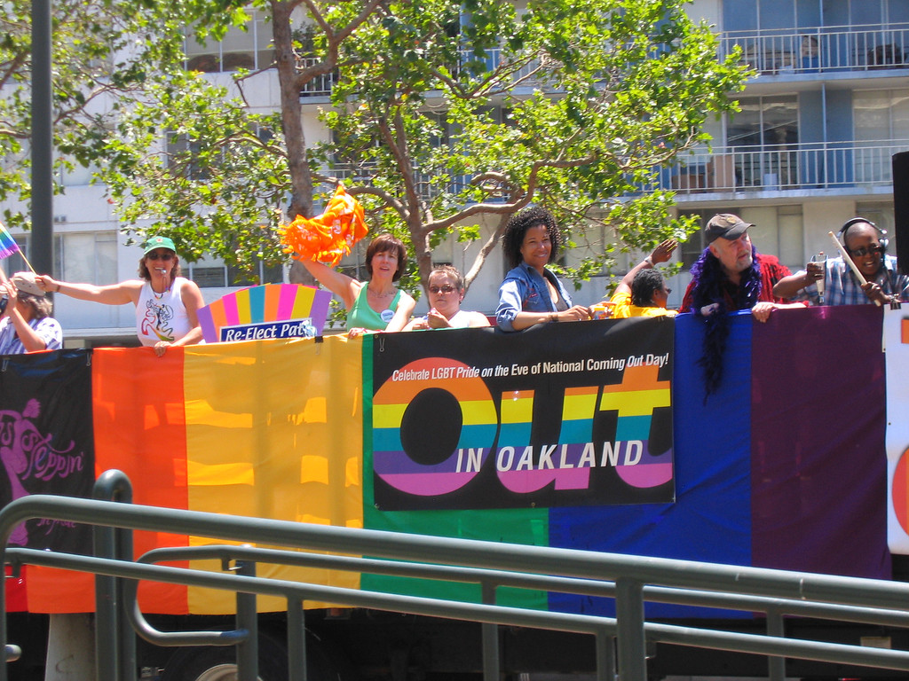 OUT in Oakland at Pride Fest