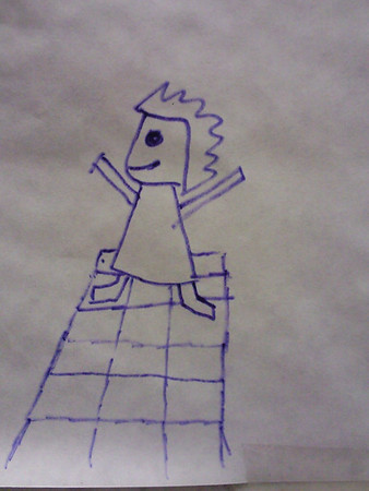 "Môj prvý obrázok ""Chibi na DDRku"" na art walle"
