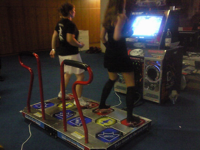 Pump It Up! Exceed 2 Arcade cabinet a Magda aka Centime