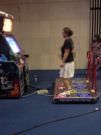 Pump It Up! Exceed 2 Arcade cabinet, 4 a Magda aka Centime