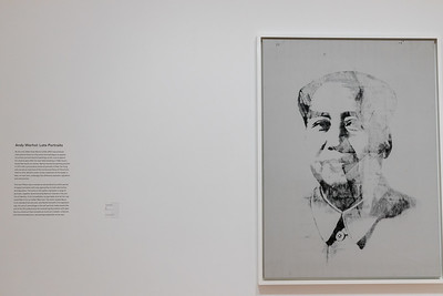 The painting of Mao before 1989 by Warhol