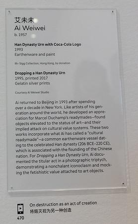 MOMA at SF.  Chinese Art after 1989
