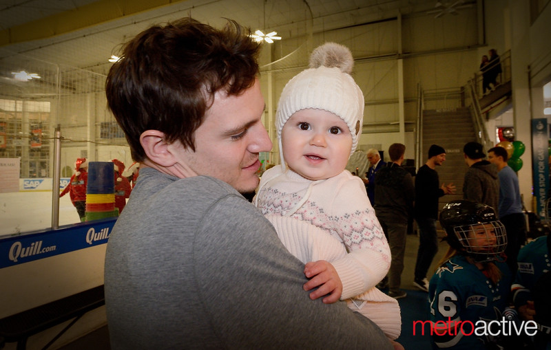 #57 - Tommy Wingels with daughter
