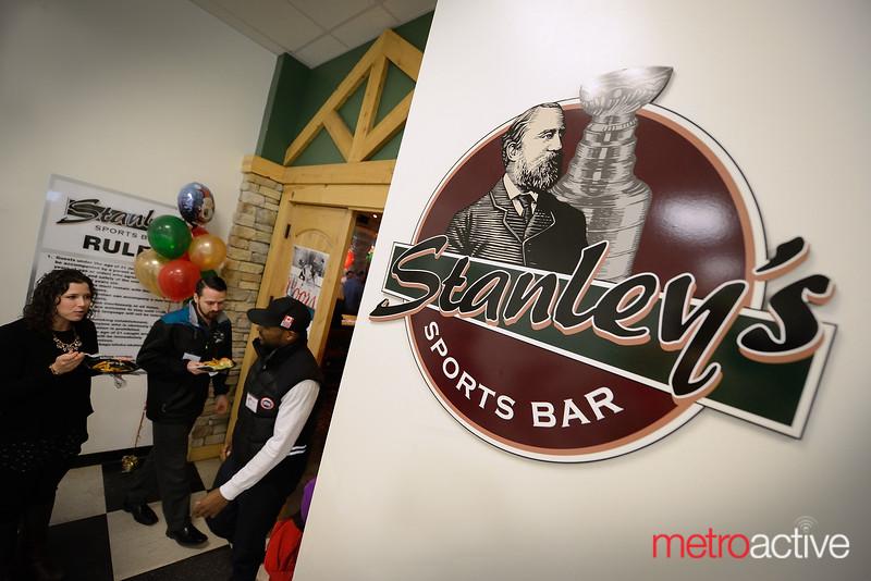 Stanley's Sports Bar located inside Solar4America Ice