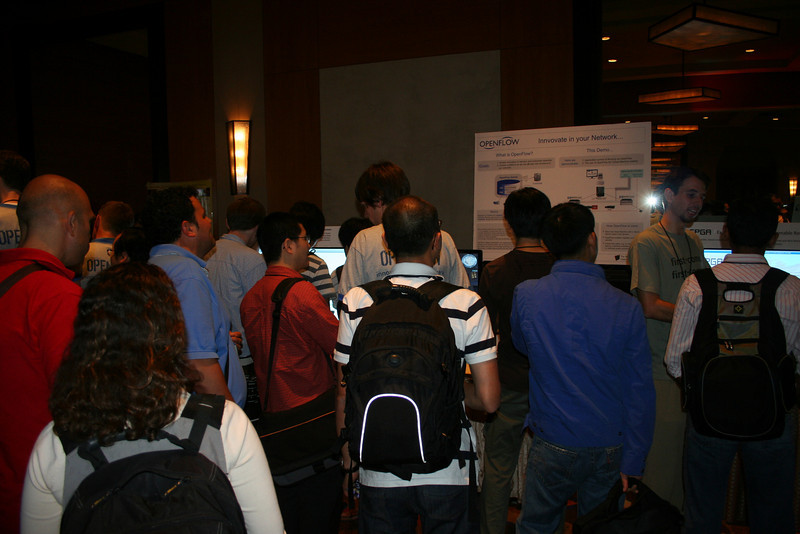 "Quote from an attendee ""I wanted to look at your demo, but I couldn't get through""."