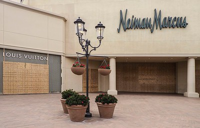 Even Neiman Marcus sought protection from threats of violence.