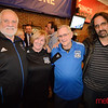 Metro columist and long time Quake fan Gary Singh (far right)
