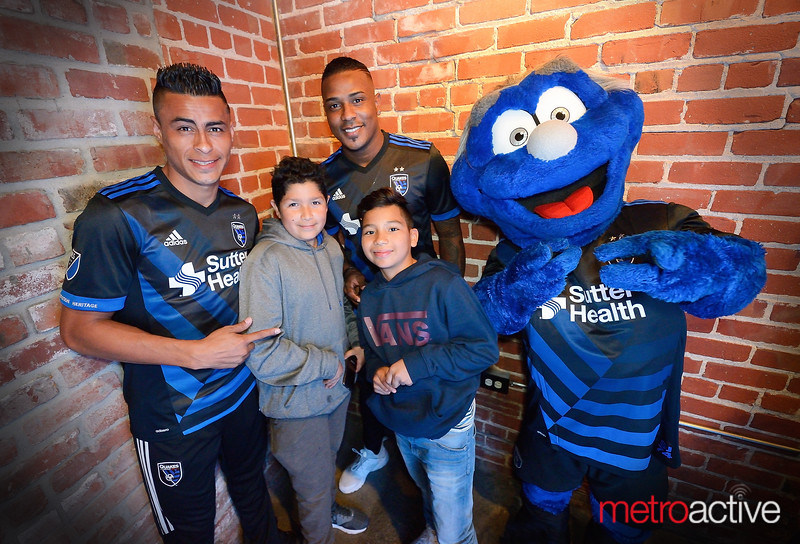 San Jose Earthquakes: Jersey Reveal Party - 16 February 2017