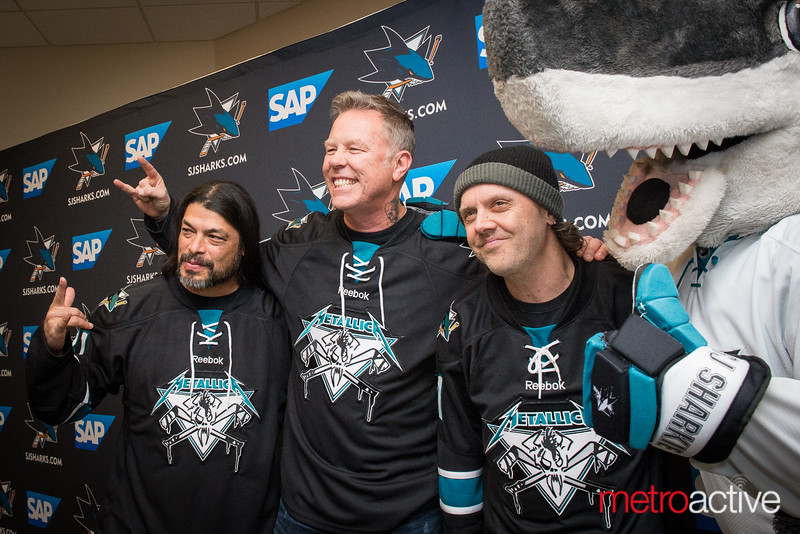 SJ Sharks Metallica Night 2015