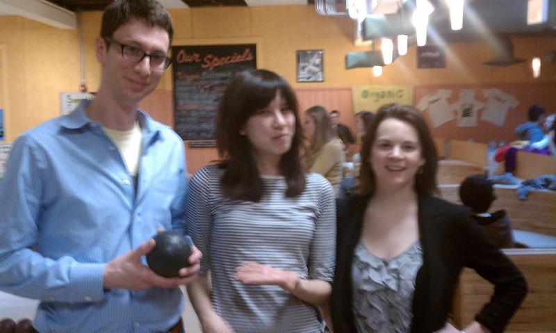 David, Candice, Sophy