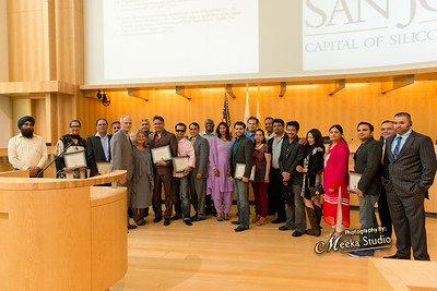 SLAM! (DBR) Team at San Jose City Council