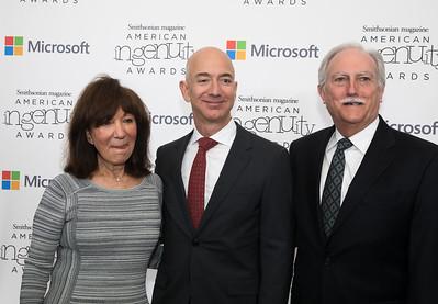 Jeff Bezos, Smithsonian Magazine Ingenuity Awards
