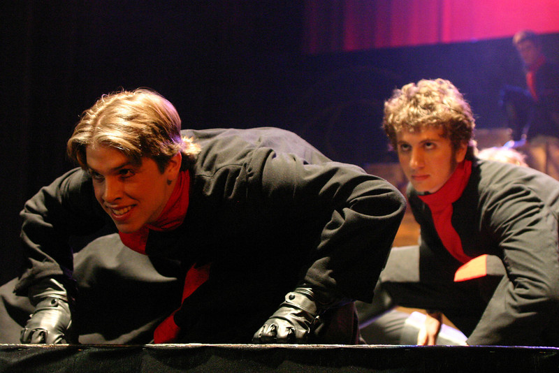 senior jacob humphrey, junior daniel huet-vahn-photo chris<br /> pyramid song
