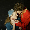 """A romantic scene, yet not awkward scene, was performed by juniors Sarah Casey and John Deidrech in the musical AIDA. """"Sarah and I knew each other in elementary school. We were comfortable and joke about it (the kissing scene) a lot,"""" Deidrech said. Deidrech's girlfriend, Danielle Killingsworth, had contrasting thoughts about the scenes. """"It was definitely weird seeing my boyfriend kiss another girl,"""" Killingsworth said """"however, I know it was just a character so it didn't bug me too much."""""""