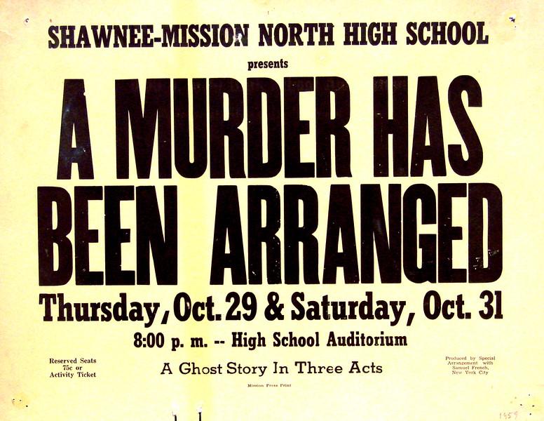 1959-1960 A Murder Has Been Arranged