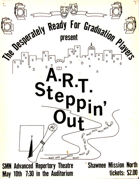 1984-1985 ART spring Steppin' Out