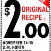 1990-1991 ART fall $2 00 Original Recipe