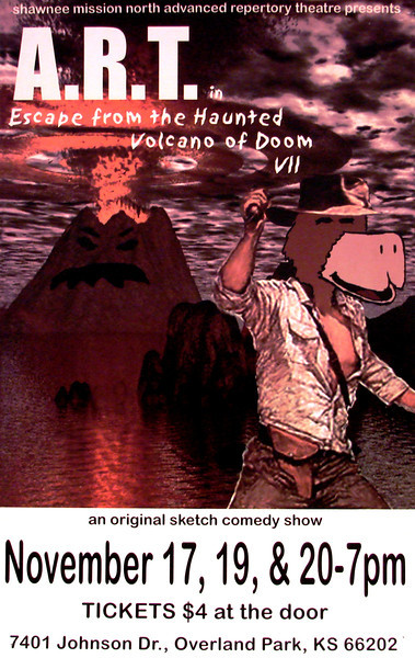 2004-2005 ART fall Escape from the Haunted Volcano of Doom VII